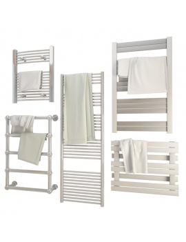 collection-mobilier-et-accessoires-salle-de-bain-3d-radiateur-serviettes