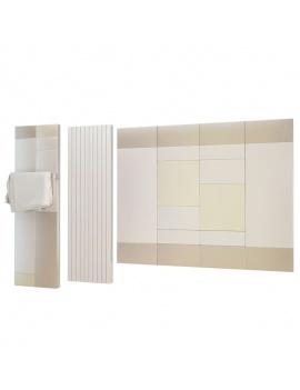 collection-mobilier-et-accessoires-salle-de-bain-3d-radiateurs