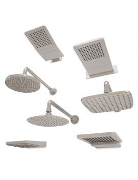 collection-mobilier-et-accessoires-salle-de-bain-3d-ciel-de-pluie-filaire