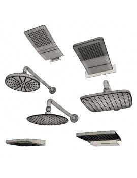 collection-mobilier-et-accessoires-salle-de-bain-3d-ciel-de-pluie