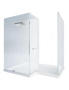 collection-mobilier-et-accessoires-salle-de-bain-3d-cabine-douche-angle