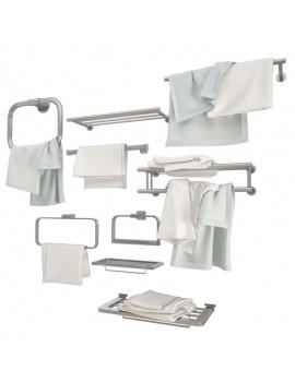collection-mobilier-et-accessoires-salle-de-bain-3d-porte-serviettes