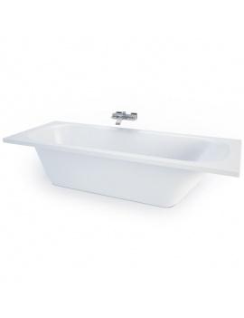 collection-mobilier-et-accessoires-salle-de-bain-3d-baignoire-encastrable