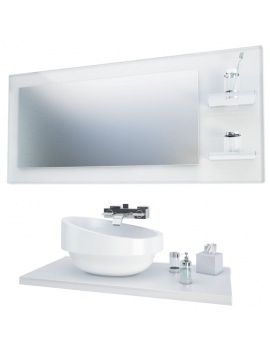 bathroom-furniture-and-accessories-3d-mirror-washbasin