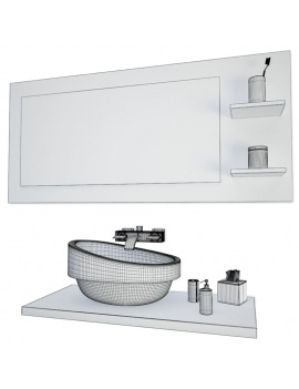 bathroom-furniture-and-accessories-3d-mirror-washbasin-wireframe