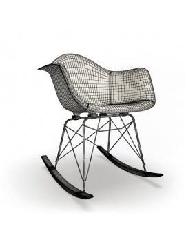 rocking-chair-rar-patchwork-3d-wireframe