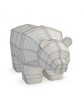 office-space-and-desk-accessories-3d-bear-sculpture