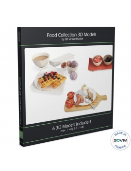 food-collection-3d-models