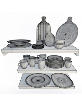 tableware-collection-3d-crockery-artesano-wireframe