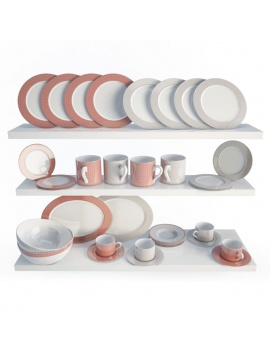 tableware-collection-3d-crockery-romy