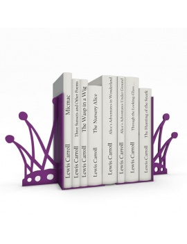 bookends-and-books-collection-3d-crown