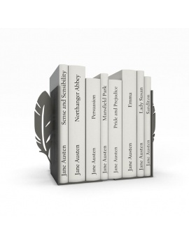 bookends-and-books-collection-3d-feather
