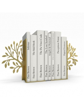 bookends-and-books-collection-3d-tree