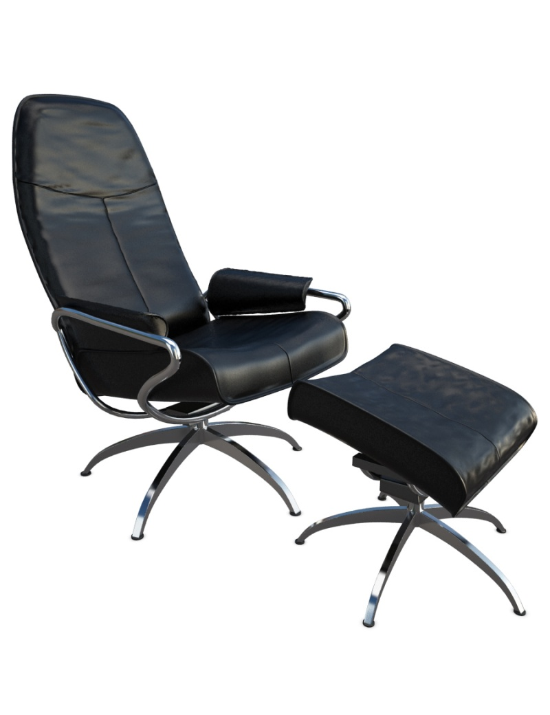 relax-leather-armchair-with-footstool-3d