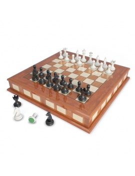 chess-games-2-and-3-players-3d-2-chessboards