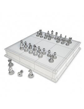 chess-games-2-and-3-players-3d-2-chessboards-wireframe