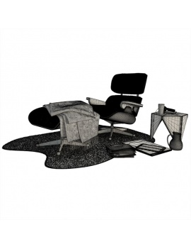 lounge-composition-armchair-3d-wireframe
