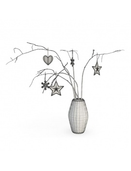 christmas-decoration-3d-chrismas-tree-wireframe