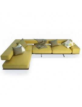 wing-corner-sofa-flexform-3d