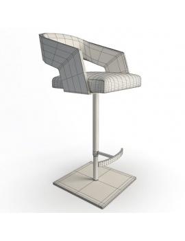 collection-de-chaises-et-de-tabourets-de-bar-3d-jolly-tabouret-01-filaire