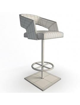 collection-de-chaises-et-de-tabourets-de-bar-3d-jolly-tabouret-01b-filaire