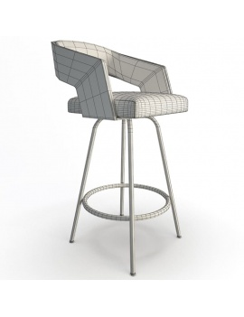 chairs-and-stools-collection-3d-jolly-stool-02-wireframe