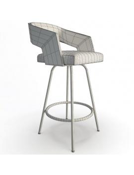 collection-de-chaises-et-de-tabourets-de-bar-3d-jolly-tabouret-02-filaire