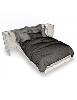 wooden-double-bed-3d-wireframe