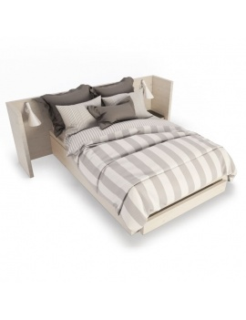 wooden-double-bed-3d