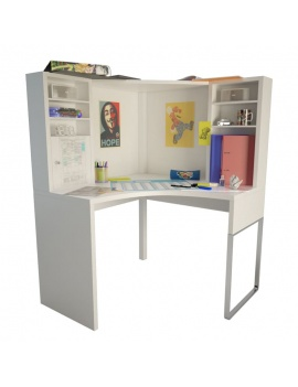 teenager-desk-and-office-supplies-3d-desk-office-supplies