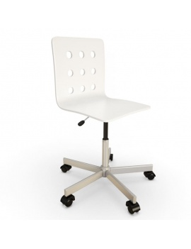 teenager-desk-and-office-supplies-3d-chair
