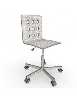 teenager-desk-and-office-supplies-3d-chair-wireframe