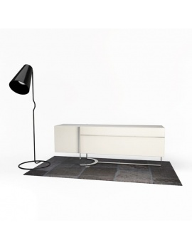 relax-composition-armchair-3d-carpet-sideboard-lamp