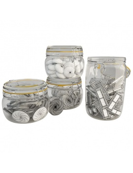 jar-cookies-3d-wireframe