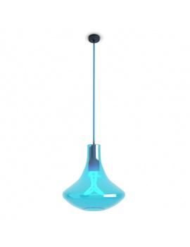 3-glass-pendant-lights-3d-blue-plumen