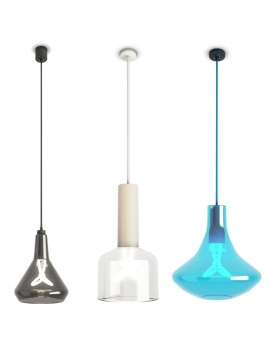 3-glass-pendant-lights-plumen-3d