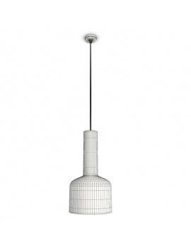 3-glass-pendant-lights-3d-white-plumen-wireframe