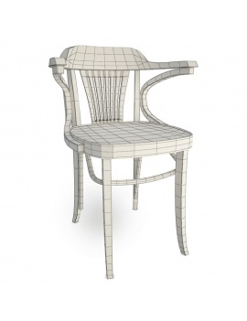 classic-iria-wooden-furniture-3d-armchair-wireframe