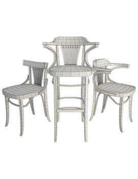 classic-iria-wooden-furniture-3d-wireframe