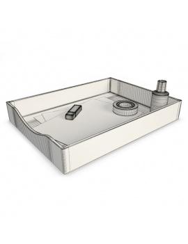 office-supplies-3d-flat-storage-envelop-wireframe