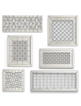 6-openwork-wall-decoration-3d-wireframe