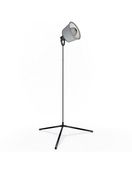 vintage-lacreu-lamps-collection-3d-floor-lamp-wireframe