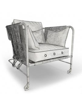 darwin-vintage-armchair-3d-wireframe