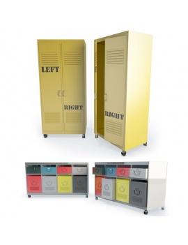 meubles-industriels-metalliques-3d