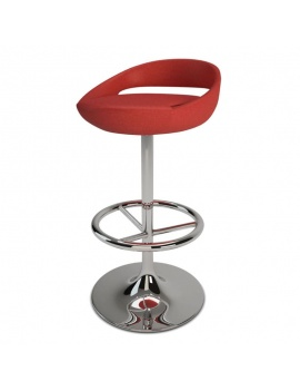 modern-red-bar-stool-3d