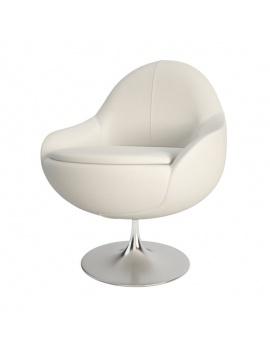 fauteuil-blanc-cosy-comete-vauzelle-3d