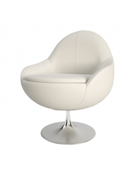 fauteuil-blanc-cosy-3d