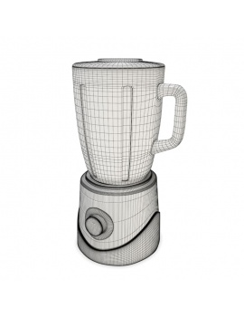 professional-kitchen-equipment-3d-blender-wireframe