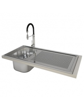 professional-kitchen-equipment-3d-sink