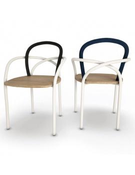 mobilier-exterieur-arc-unopiu-3d-chaise